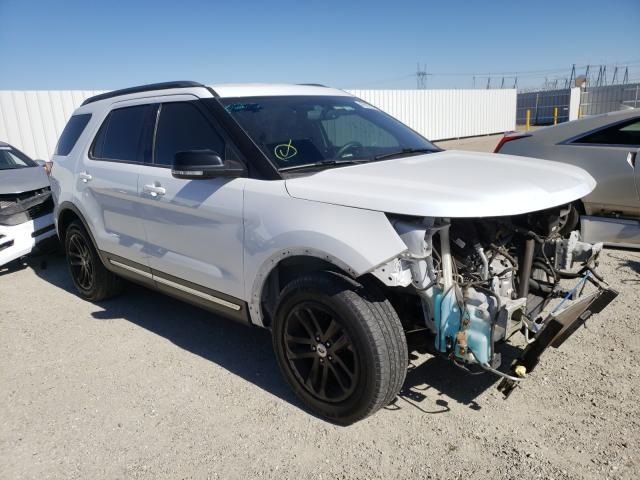 Vehiculos salvage en venta de Copart Adelanto, CA: 2017 Ford Explorer X