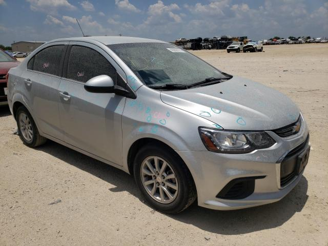 Salvage cars for sale from Copart San Antonio, TX: 2018 Chevrolet Sonic LT