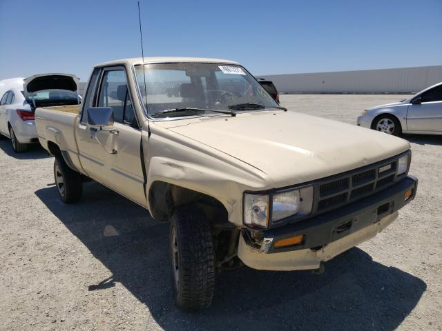 Salvage cars for sale from Copart Adelanto, CA: 1986 Toyota Pickup XTR