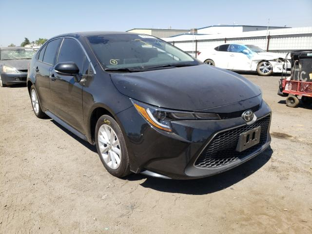 Salvage cars for sale from Copart Bakersfield, CA: 2020 Toyota Corolla XL
