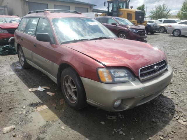 Salvage cars for sale from Copart Eugene, OR: 2003 Subaru Legacy Outback