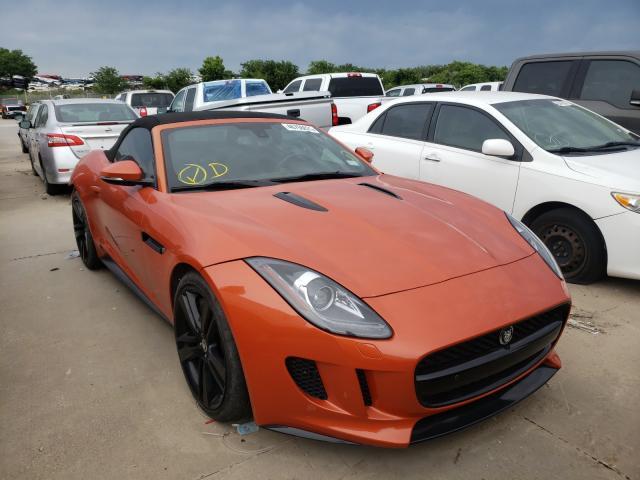Jaguar salvage cars for sale: 2014 Jaguar F-TYPE V8