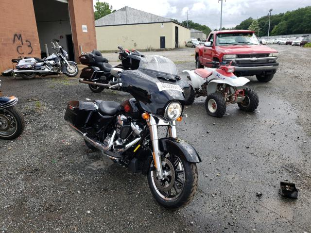 Salvage cars for sale from Copart North Billerica, MA: 2021 Harley-Davidson Flht