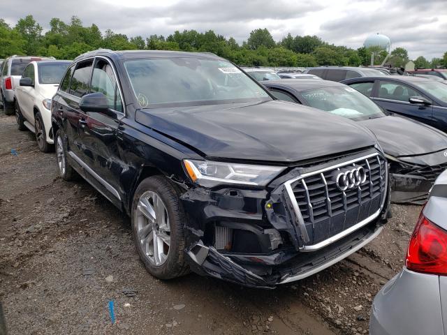 Salvage cars for sale from Copart Hillsborough, NJ: 2021 Audi Q7 Premium