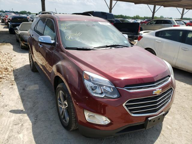 Salvage cars for sale from Copart Temple, TX: 2017 Chevrolet Equinox PR