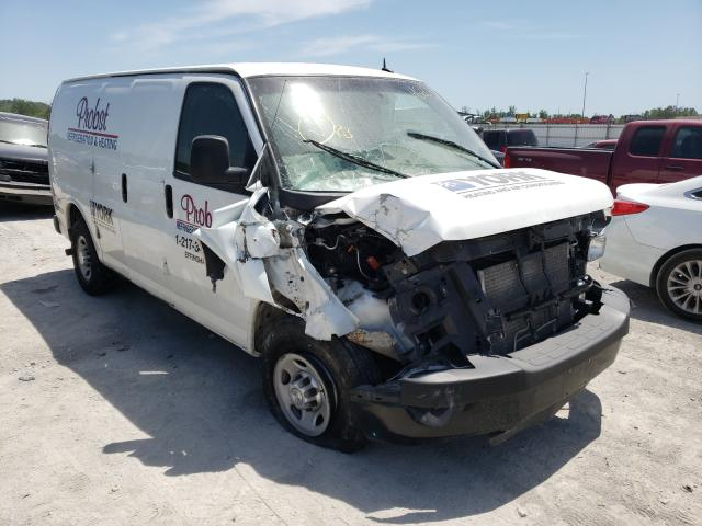 Salvage trucks for sale at Alorton, IL auction: 2015 Chevrolet Express G2