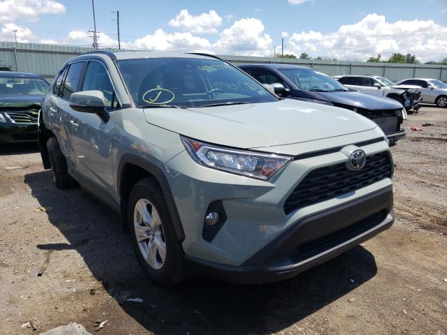Salvage cars for sale from Copart Pennsburg, PA: 2020 Toyota Rav4 XLE