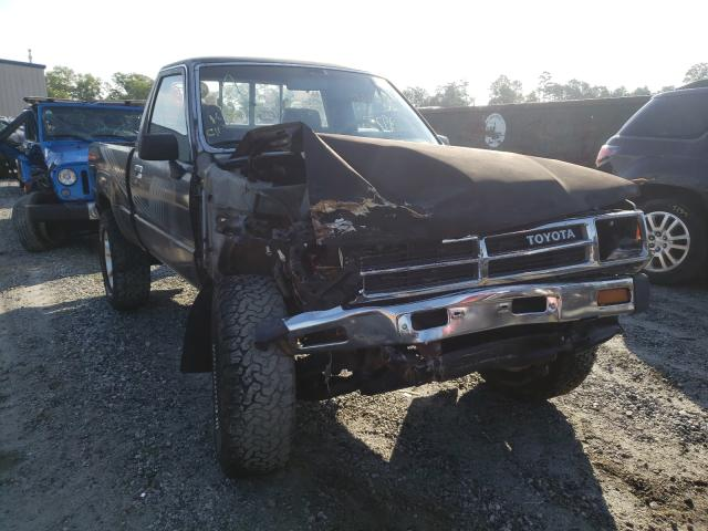 Salvage cars for sale from Copart Spartanburg, SC: 1987 Toyota Pickup RN6
