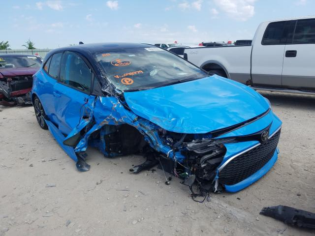 Toyota salvage cars for sale: 2020 Toyota Corolla XS