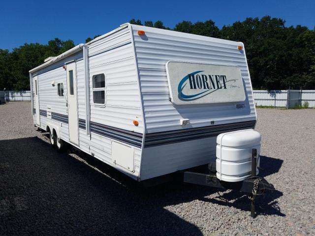 Hornet salvage cars for sale: 2000 Hornet Travel Trailer