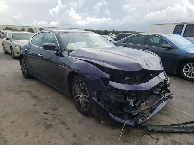 Salvage cars for sale from Copart Orlando, FL: 2017 Maserati Ghibli S