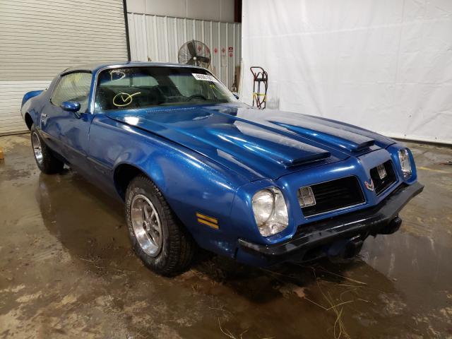Carros salvage clásicos a la venta en subasta: 1975 Pontiac Firebird F