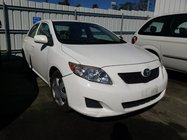 Salvage cars for sale from Copart Vallejo, CA: 2009 Toyota Corolla BA