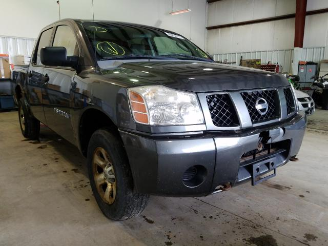 Salvage cars for sale from Copart Central Square, NY: 2007 Nissan Titan XE