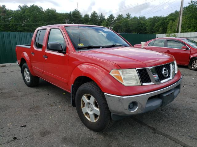 Salvage cars for sale from Copart Exeter, RI: 2005 Nissan Frontier C