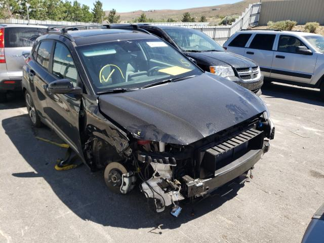 Salvage cars for sale from Copart Reno, NV: 2021 Hyundai Kona Limited