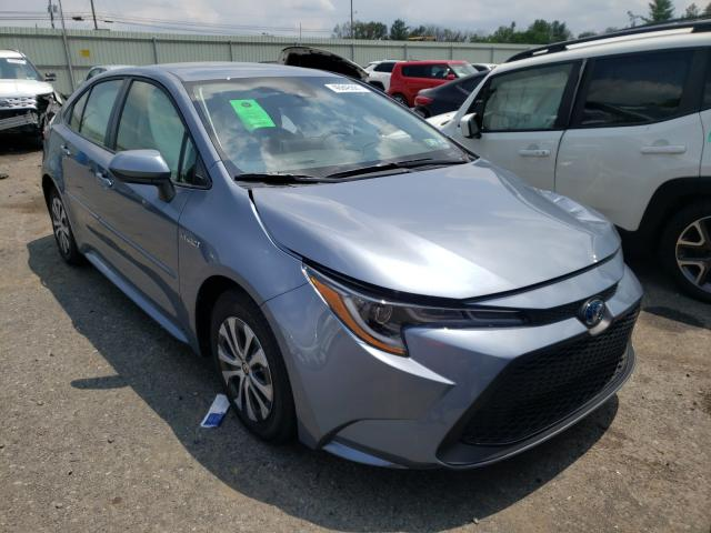 Salvage cars for sale from Copart Pennsburg, PA: 2021 Toyota Corolla LE
