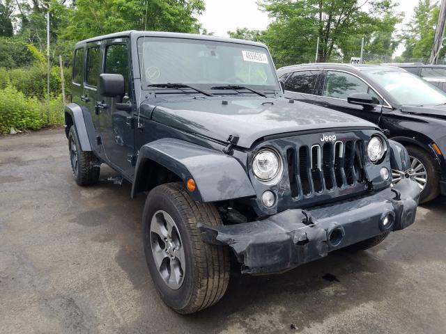 Vehiculos salvage en venta de Copart Marlboro, NY: 2017 Jeep Wrangler U