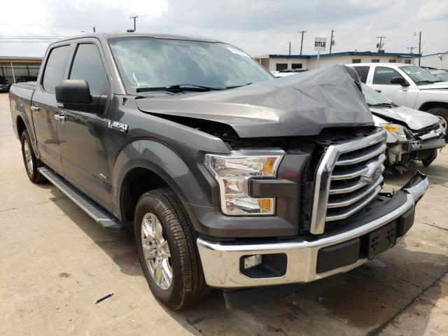 Salvage cars for sale from Copart Grand Prairie, TX: 2017 Ford F150 Super