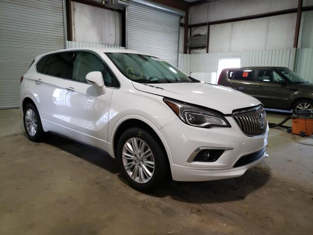 Salvage cars for sale from Copart Lufkin, TX: 2017 Buick Envision P