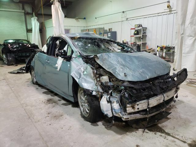 Salvage cars for sale from Copart Leroy, NY: 2018 Toyota Prius