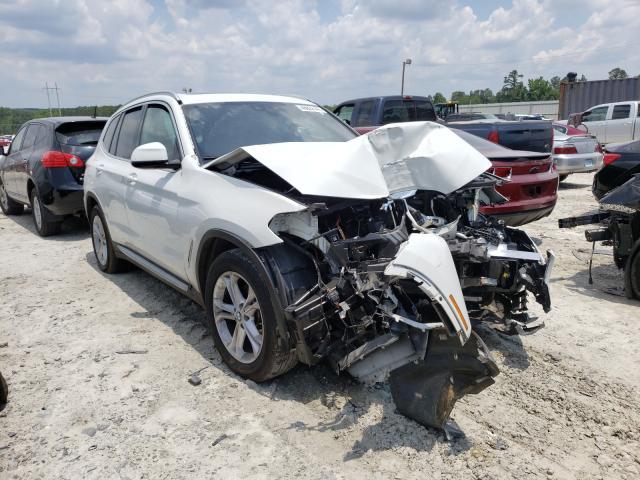 Vehiculos salvage en venta de Copart Loganville, GA: 2020 BMW X3 SDRIVE3