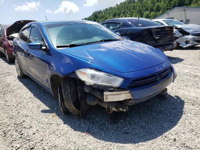 Salvage cars for sale from Copart Hurricane, WV: 2013 Dodge Dart SE