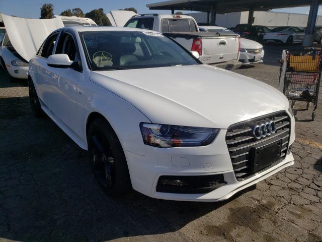 Audi salvage cars for sale: 2016 Audi A4 Premium