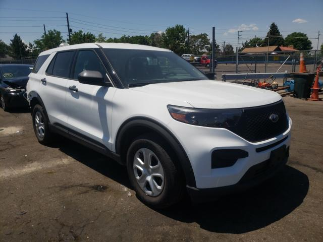 Salvage cars for sale from Copart Denver, CO: 2020 Ford Explorer P