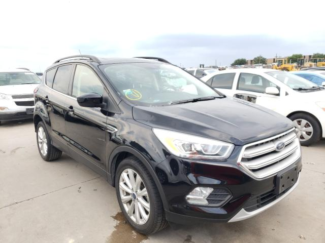 2019 Ford Escape SEL en venta en Grand Prairie, TX