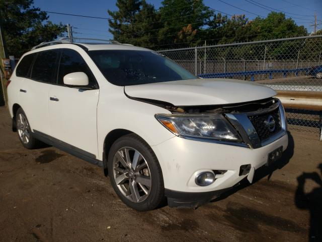 Salvage cars for sale from Copart Denver, CO: 2014 Nissan Pathfinder
