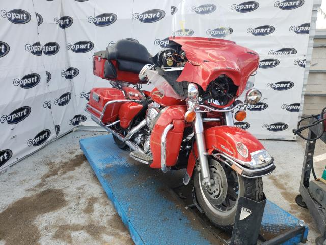 Salvage cars for sale from Copart Anthony, TX: 2004 Harley-Davidson Flhtcui SH
