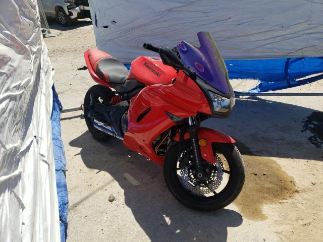 Salvage cars for sale from Copart Bridgeton, MO: 2008 Kawasaki EX650 A