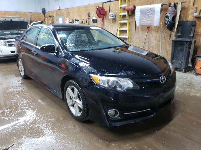 Salvage cars for sale from Copart Kincheloe, MI: 2012 Toyota Camry Base
