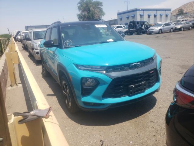 Salvage cars for sale from Copart Albuquerque, NM: 2021 Chevrolet Trailblazer