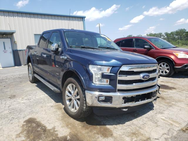 Salvage cars for sale from Copart Chambersburg, PA: 2016 Ford F150 Super