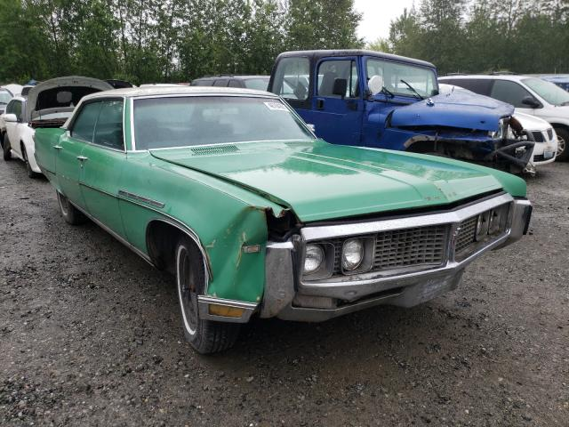 Salvage cars for sale from Copart Arlington, WA: 1969 Buick Electra
