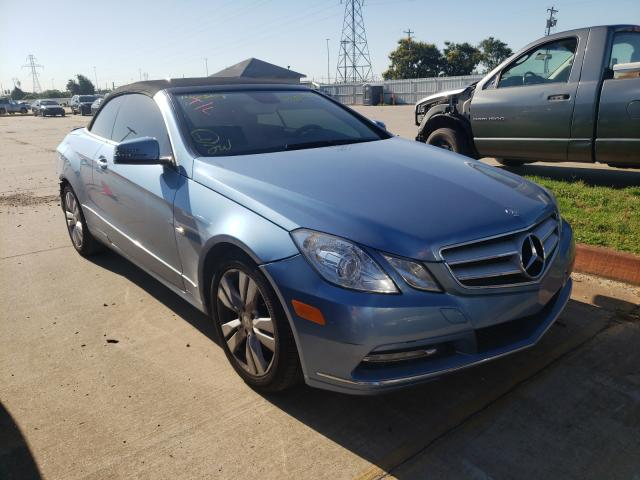 Salvage cars for sale from Copart Oklahoma City, OK: 2012 Mercedes-Benz E 350