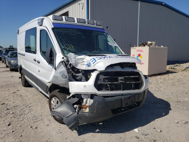 Salvage cars for sale from Copart Sikeston, MO: 2017 Ford Transit T