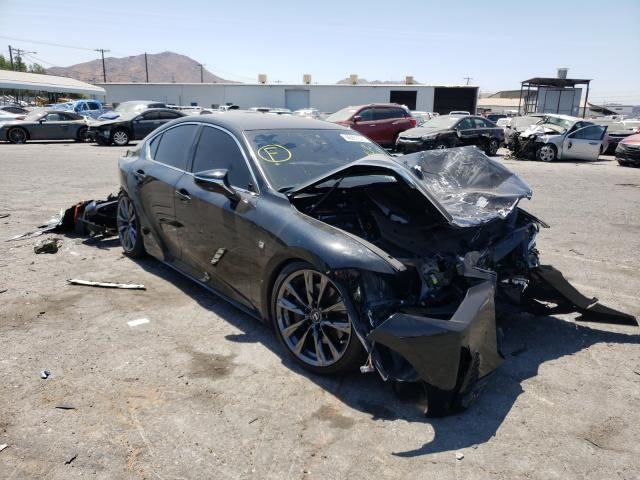 Salvage cars for sale from Copart Colton, CA: 2021 Lexus IS 350 F-S