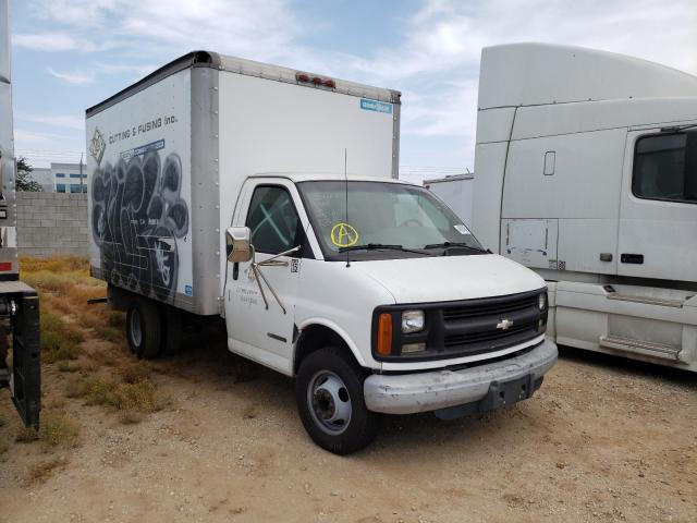 Salvage cars for sale from Copart Los Angeles, CA: 2002 Chevrolet Express G3