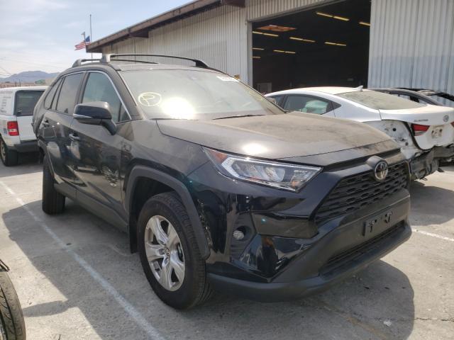Vehiculos salvage en venta de Copart Sun Valley, CA: 2021 Toyota Rav4 XLE