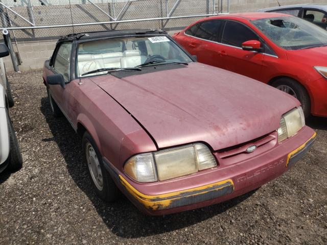 Clean Title Cars for sale at auction: 1988 Ford Mustang LX