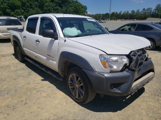 Salvage cars for sale from Copart Concord, NC: 2015 Toyota Tacoma DOU