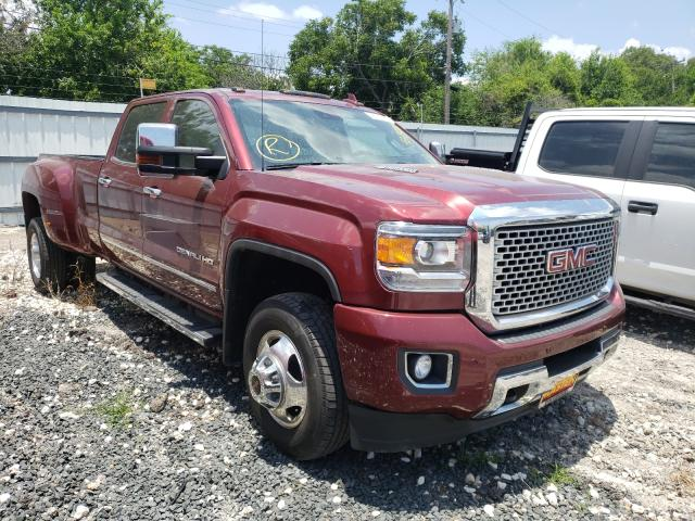 Salvage cars for sale from Copart Corpus Christi, TX: 2015 GMC Sierra K35