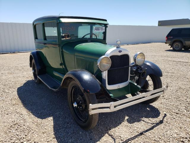 Salvage cars for sale from Copart Bismarck, ND: 1929 Ford Model A