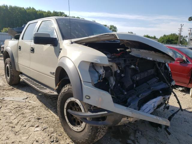 Salvage cars for sale from Copart Hampton, VA: 2014 Ford F150 SVT R