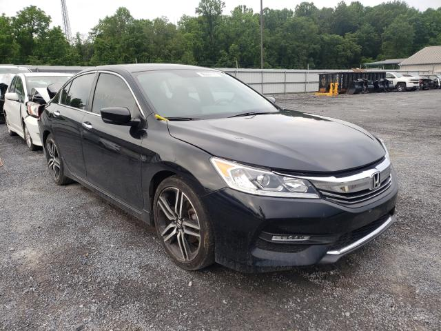 Salvage cars for sale from Copart York Haven, PA: 2016 Honda Accord Sport
