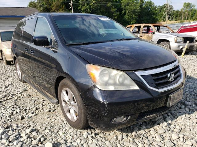 Salvage cars for sale from Copart Mebane, NC: 2009 Honda Odyssey TO