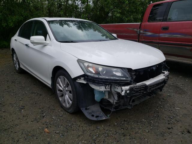 Salvage cars for sale from Copart Arlington, WA: 2015 Honda Accord EXL
